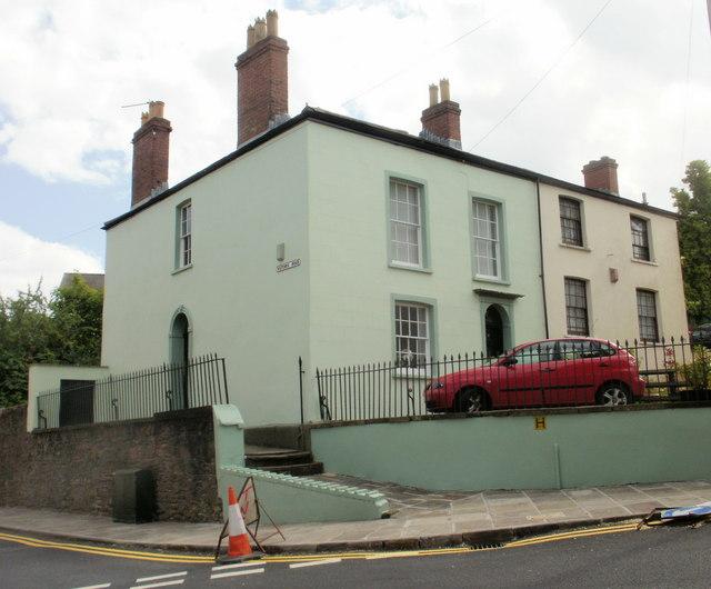 Corner of Victoria Road and Victoria Place, Newport