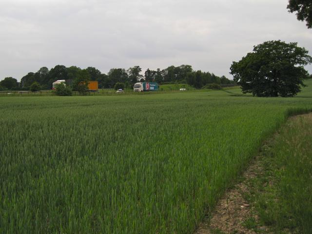 M40 east of Lapworth Street