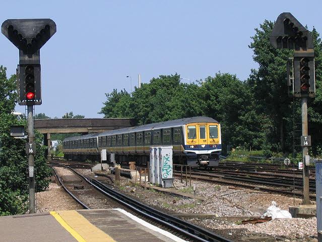 Thameslink old livery (pre-2005)