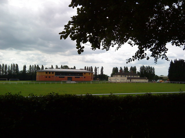Sports buildings on Highfield