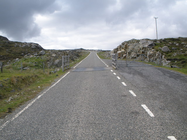 Cattle grid on the Golden Road