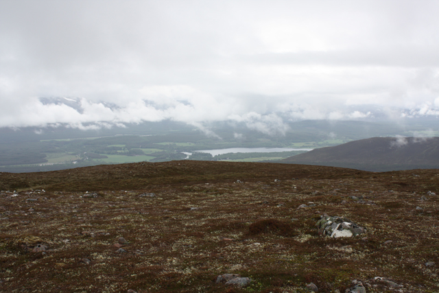 A top SW of Geal-charn Beag