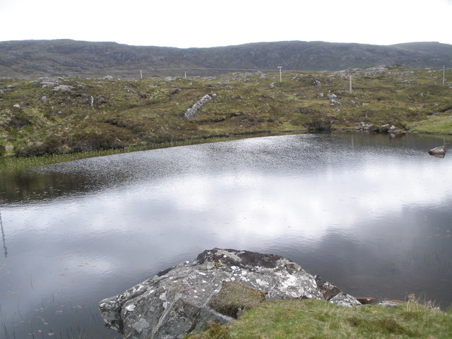 Unnamed lochan at the junction of the Golden Road and the Main Tarbert road