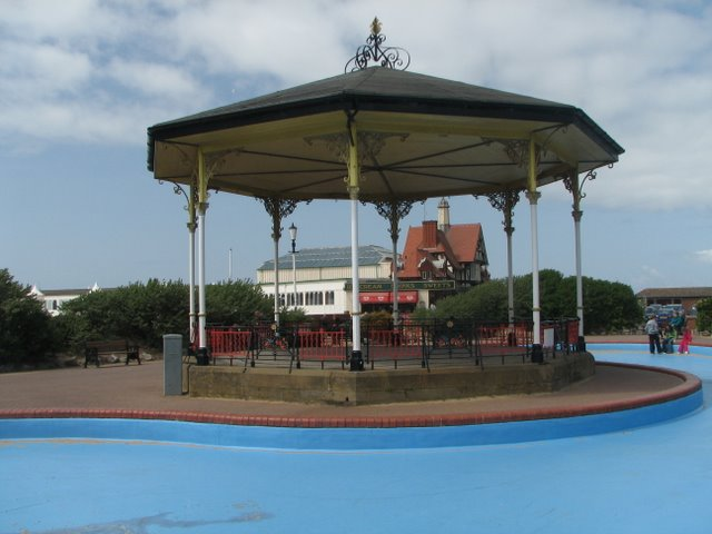 The Bandstand on St. Annes Promenade