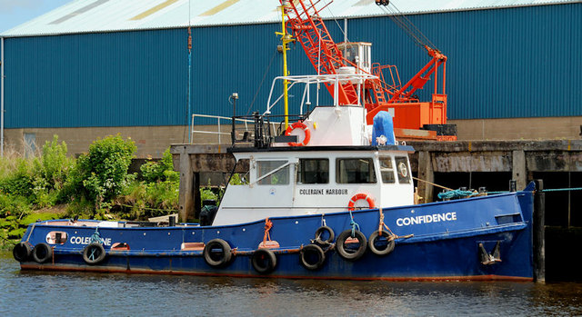Harbour tug, Coleraine