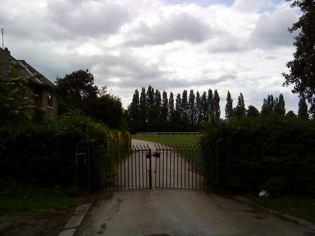 Entrance to Highfields Sports Ground