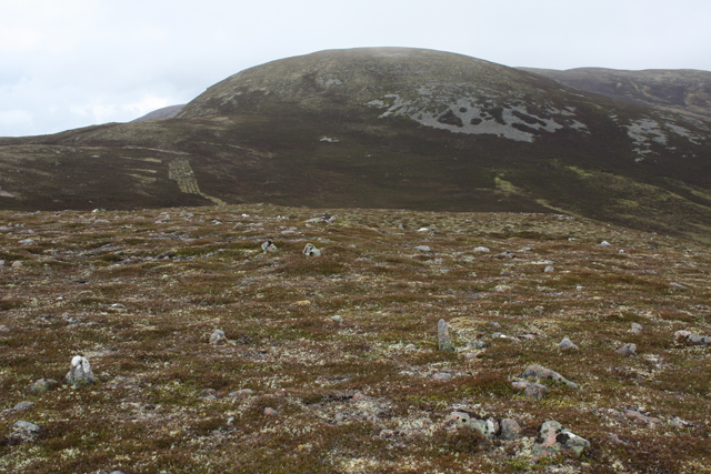 View towards Geal-charn Beag