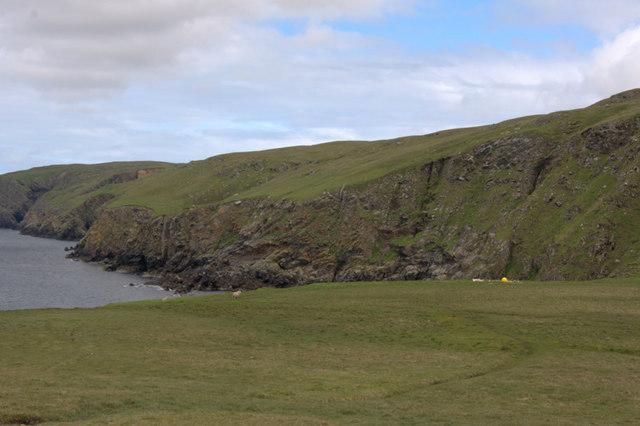 Coastline between Clave and Woodwick