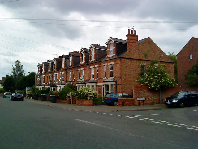 Victorian terrace on Lower Road, Beeston