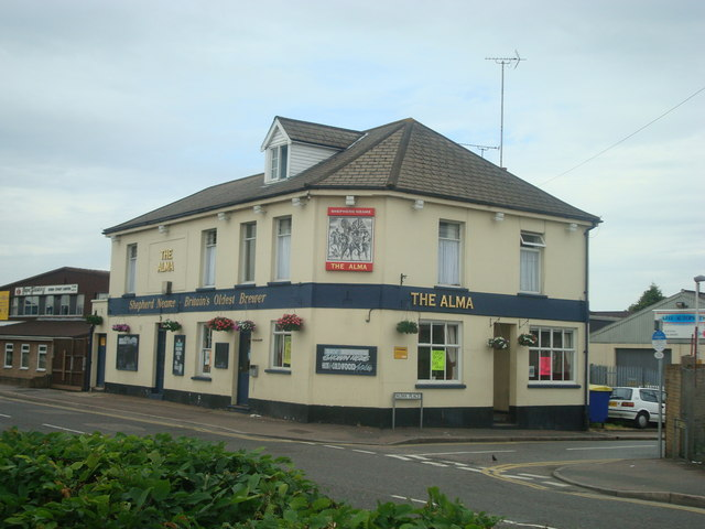The Alma public house, Strood