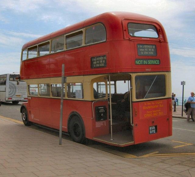 Old Style Brighton Routemaster Bus