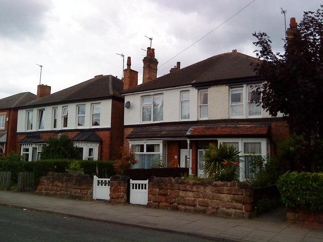 Houses on Fletcher Road