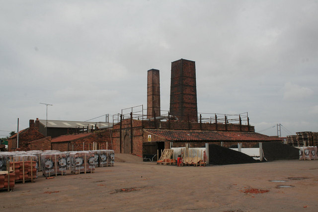 Kilns at Hoe Hill works