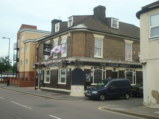 The Steam Packet public house, Strood