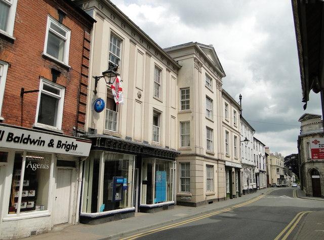Former Town Hall, Lower Cross, Kington