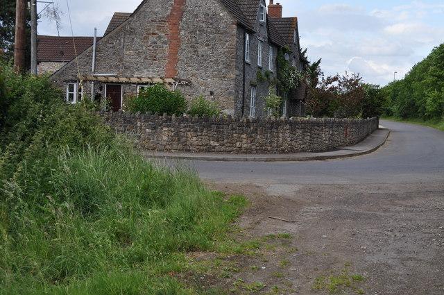 Looking along Hayesgate Lane