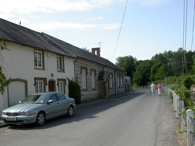 Cerne Abbas, village school
