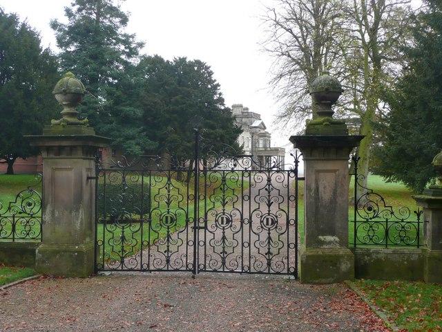 Dunstall Hall gateway