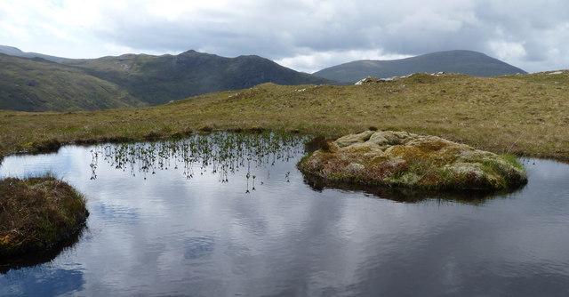 Lochan on Druim Airigh Ruairidh