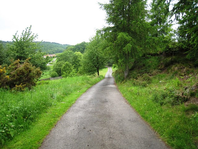 Access track to Penny Holme