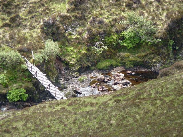 Bridge over Abhainn Gleann Airighean Dhomhnaill