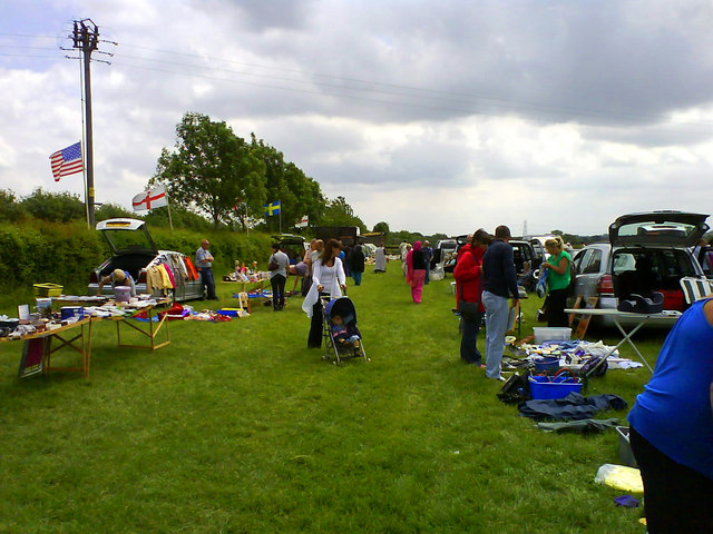 Car boot sale at Peter's Paddock