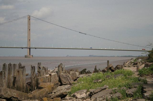Humber Bridge, south span