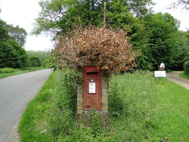 Postbox having a bad-hair-day