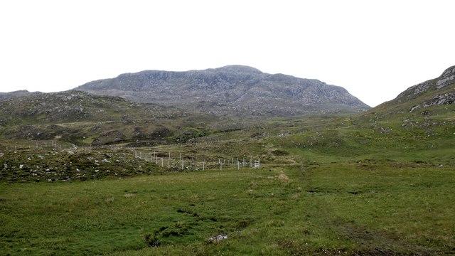The moorland path to Loch Eireagoraidh