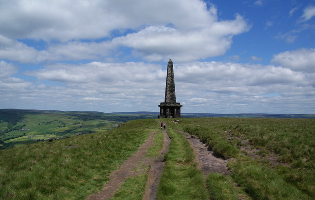 Stoodley Pike Monument from the south