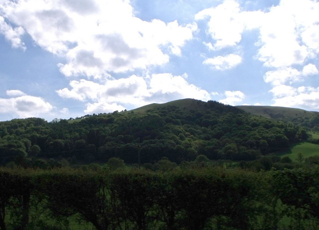 Pen-y-Pigyns from the A470, Powys
