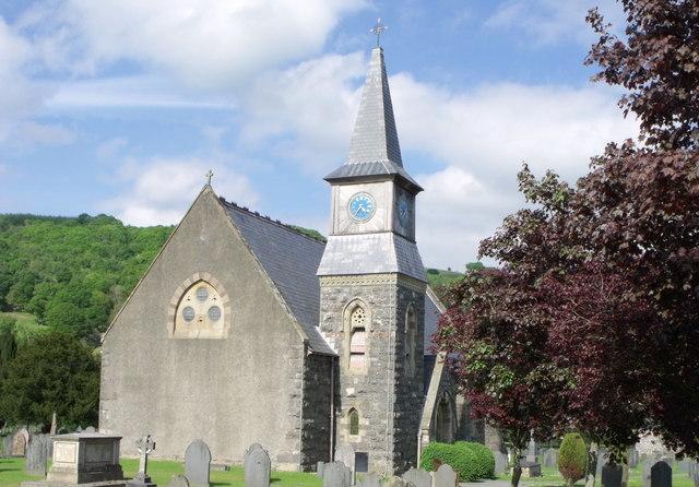 St. John the Baptist, Carno, Powys