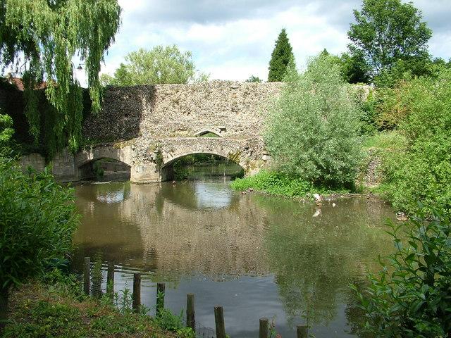 Abbots Bridge over the River Lark