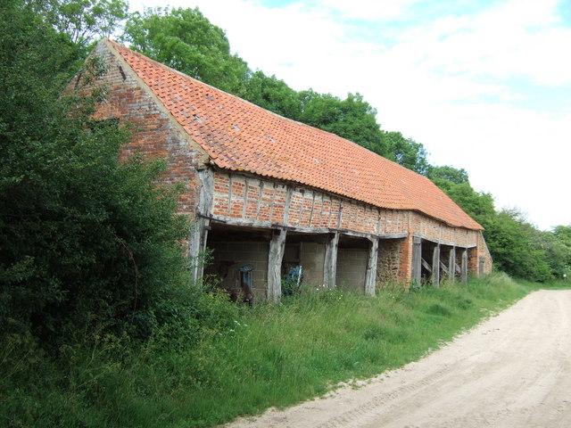 Traditional farm building