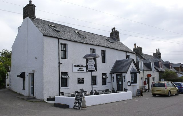 Former  library - now a restaurant - Arisaig