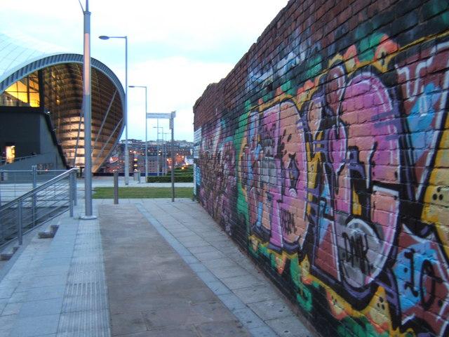 Graffiti Wall and The Sage
