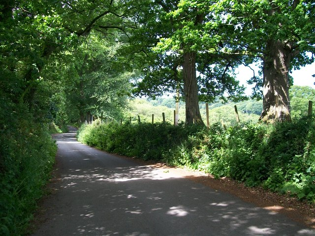 The descent into Llanystumdwy