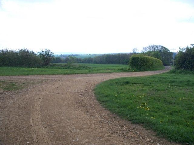 Driveway to Tilborough Farm