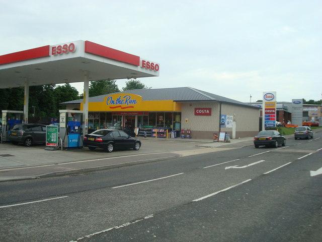 Petrol station, Strood