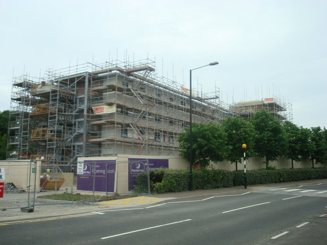 Hotel under construction, Medway Valley Leisure Park