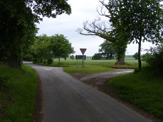 Junction with Bungay to Loddon Road, Broome