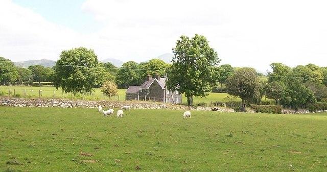 Isfryn Cottage on the Gwynfryn Estate