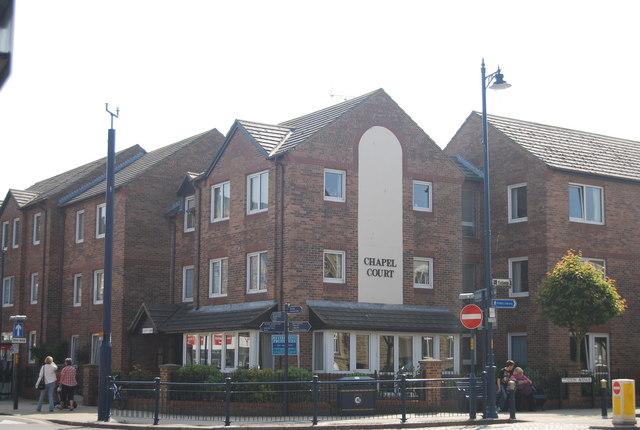 Chapel Court, Station Avenue and West Avenue