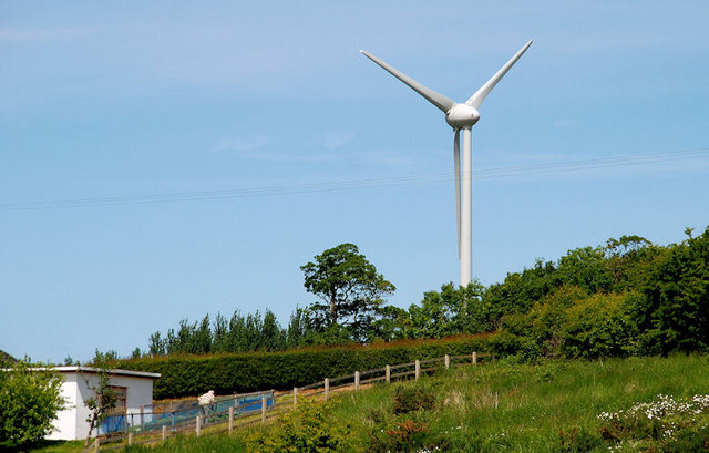 Wind turbine, Coleraine