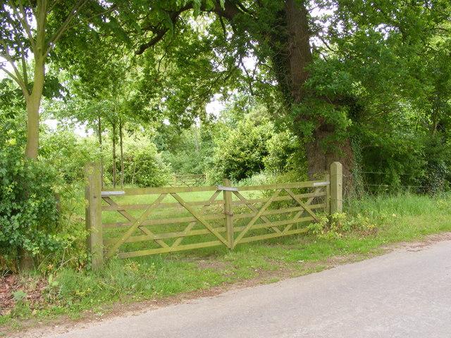 Gateway off Bungay Road, Ellingham