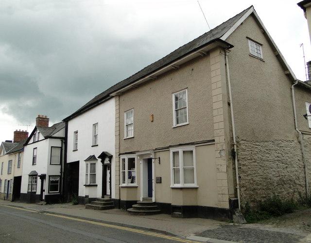 A selection of doorsteps, Bridge Street