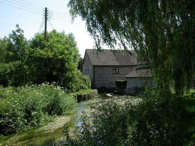 Godmanstone, mill stream