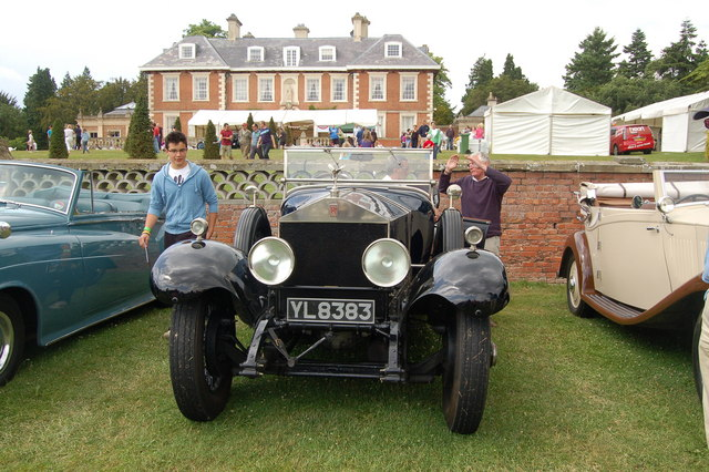Gloucestershire Motor Show at Highnam Court 2010