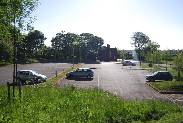 Scalby Manor Hotel car park