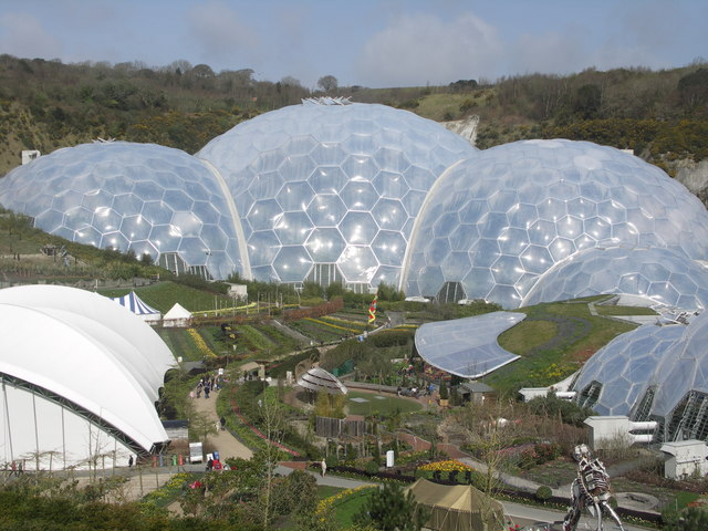 The Eden Project, St Austell, Cornwall
